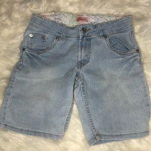 Levi's girls blue shorts